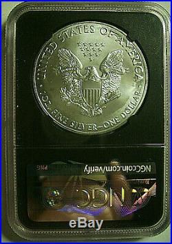 2020(p) American Silver Eagle Mint Error $1 Philadelphia Emergency Ngc Ms69 Fdi