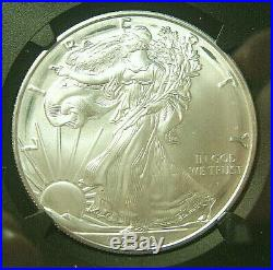2020 (p) Silver Eagle $1 Philadelphia Emergency Issue Mint Error. Ngc Ms69 Fdi