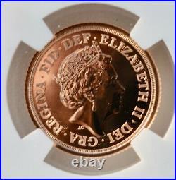 2021 Gold Half Sovereign NGC MS70 DPL Britain Royal Mint