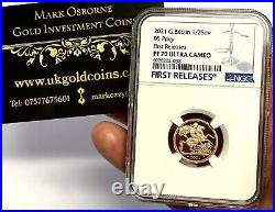 2021 Gold Proof Half Sovereign NGC Top Grade PF70UCAM First Release, Royal Mint