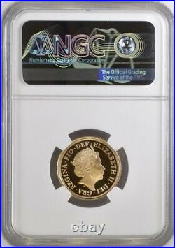 2021 Gold Proof Sovereign NGC Top Grade PF70UCAM First Release, Royal Mint Coin