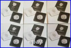 2021 Peace & (p) CC & O Privy S & D Mint Mark Morgans Ms69 Complete 6 Coin Set