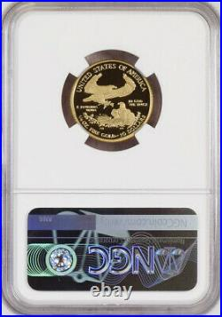 2021 W US Mint Gold Eagle $10 1/4 oz T-1 NGC PF70 Ultra Cameo Early Releases