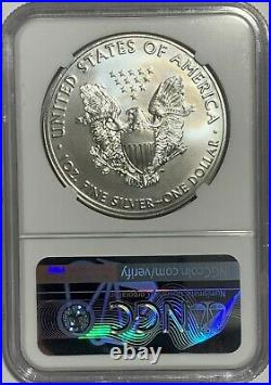 2021 (p) Silver Eagle Ngc Ms69 T-1 Emergency Production Mint Error Clashed Dies