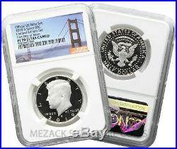 8-Coin 2019 Limited Edition Silver Set Proof NGC PF70 S Mint FDOI