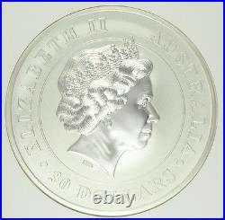Australia 2013 Silver 30 Dollars kilo kg Koala Bear Perth Mint NGC MS70 Mint-500