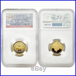 Australia 2015 Perth Mint Half Sovereign 15 Dollars Gold NGC PF70 Ultra Cameo