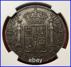 Excellentsilver 8 Reales Carlos III 1780 Mexico Mint Assayers Ff Ngc Au50