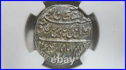 India Mysore 1 Rupee, AM 1217 / 1789, KM- 126 Patan Mint, NGC MS 64 High Grade