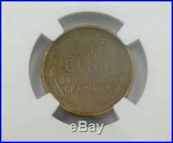 Key Date 1909 S VDB NGC AU50 United States Copper Wheat Cent Penny Coin Mint