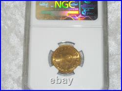 NGC MS-63 NAZI GERMAN SWASTIKA 1938-A 10 ReichsPfennig WW2 COIN 3rd-REICH MINT