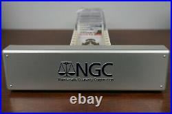 NGC PF70 Silver Coins Lot of 10 with slab box