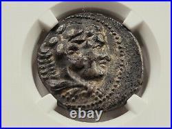 NGC XF 5/5 2/5 Alexander III the Great AR Tetradrachm. 322 BC. Tyre Mint