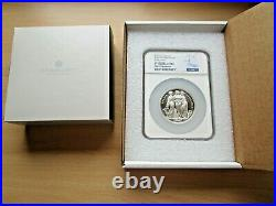 Royal Mint Three Graces 2020 Silver proof 5oz £10 coin NGC PF 70 Ultra Cameo