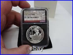 Royal Mint UK 2018 Silver Proof 1oz Oriental Border Britannia -Slabbed NGC PF69