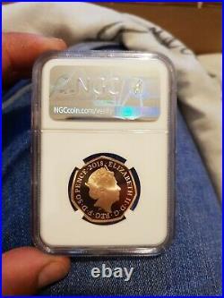 Royal mint Gold Proof NGC Graded PF70 2018 Snowman 50p