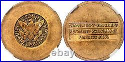 SAUDI ARABIA (1945-46) ND AV 4 Pounds. NGC MS61 Philadelphia mint