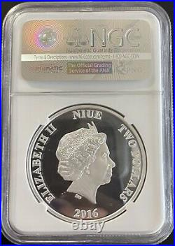 STAR WARS DARTH VADER SILVER COIN LOT NGC PF 70 1st RELEASE 1 OF 500 STRUCK UC