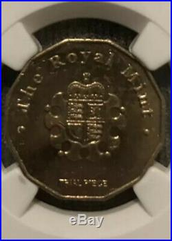 Scarce 2014 Royal Mint Trial £1 Coin Ngc Ms61