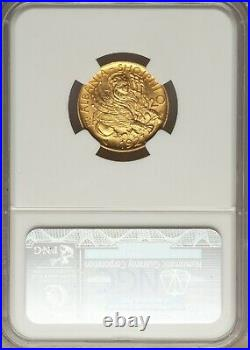 Skanderbeg gold 20 Franga Ari 1927-V MS65 NGC, KM12. Vienna, mint. Albania