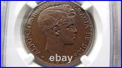 Spain 20 Centimos 1896 R. Hutt fantasy coinage. Few minted