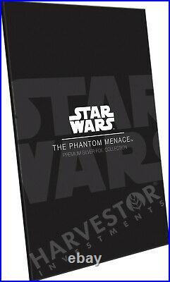 Star Wars The Phantom Menace Premium Silver Foil Cgc 10 Mint First Release