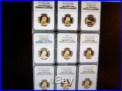 (lot Of 10) Ngc Coins-at Least 5 Will Be Pr 70 Silver-no Ngc Storage Box! #1