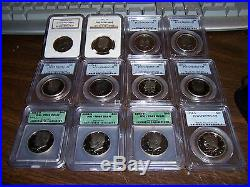 (lot Of 20) Show Season Sale- Icg- Pcgs-ngc-anacs Graded Coins-clean Slabs#hj